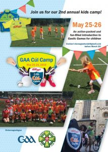 GAA Cúl Camps (kids camp) @ Vienna